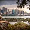 Opera House, Sydney, from Taronga Zoo - HDR.