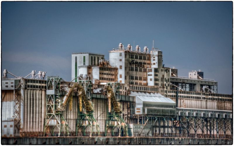 Viterra agri-products facility, Montreal, Quebec, Canada HDR.