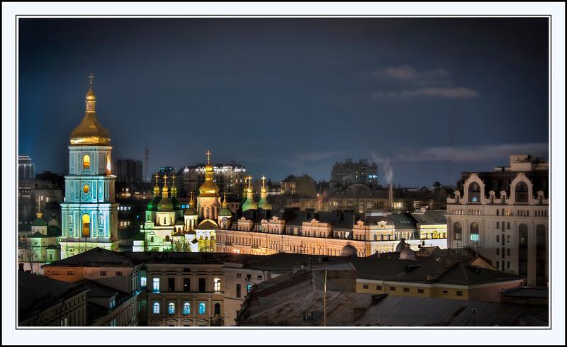 St. Sophia's Cathedral, Kyiv, Ukraine - HDR.