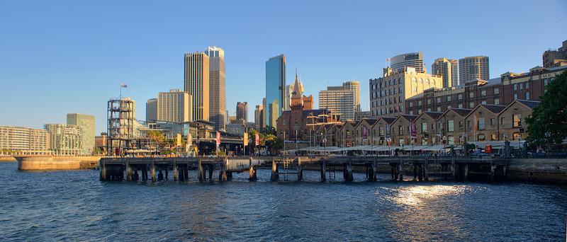 HDR: The Rocks, Sydney, Australia.