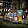 Night Tram, Milano - HDR.