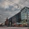Mannerheimintie, Main Street in Helsinki, Finland - HDR.