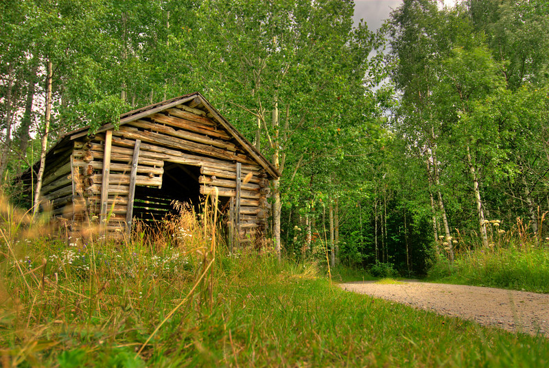 HDR: Farm, Finland.