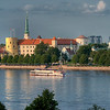 Riga Castle, Riga, Latvia HDR.