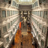 Promenade of one of the Silja Line ships between Stockholm and Helsinki, aka the party boat - HDR.