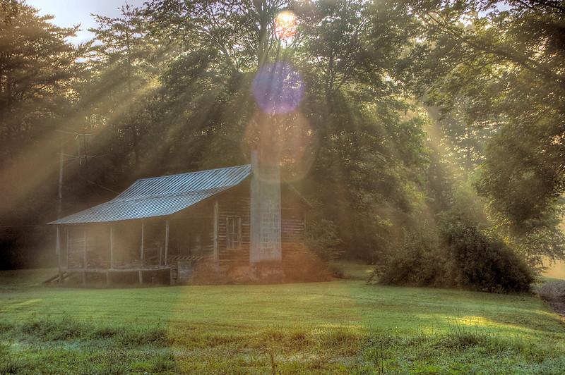 HDR: Morning, North Georgia, USA.