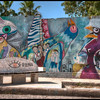A community beautification project outside Havana, Cuba.