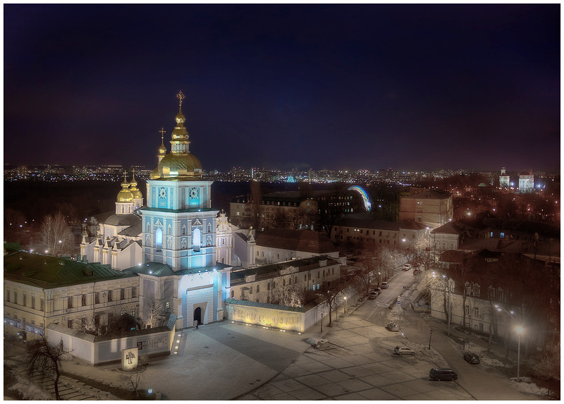 St. Michael's Cathedral, Kyiv, Ukraine - HDR.