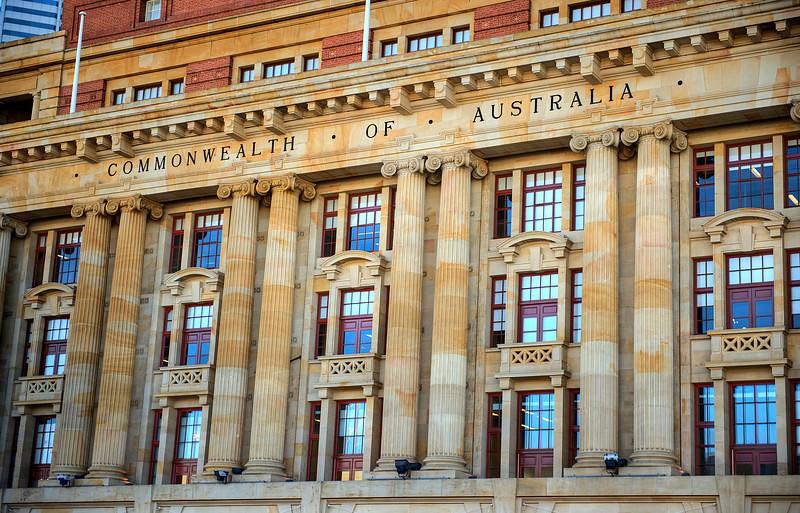 HDR: Perth, Australia government building HDR.