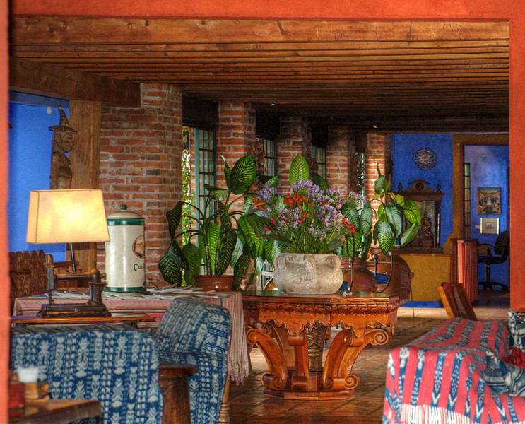 Hotel Casa Polopo, Lake Atitlan, Guatemala.