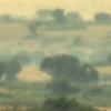 HDR: Panorama of savannah, Uganda.