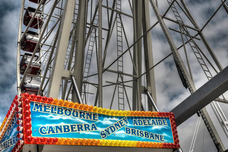 Amusement Park, Sydney, Australia - HDR.