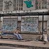 HDR: Bus stop, El Salvador.