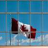 The Canadian flag, Halifax, Nova Scotia.