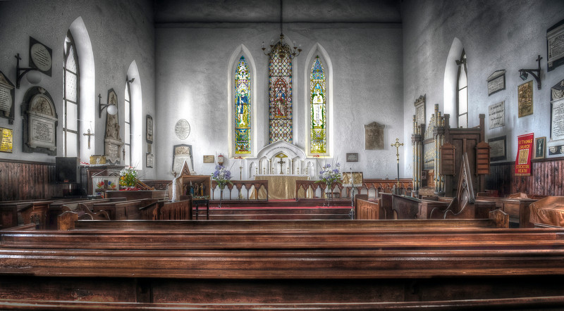 St. James Church, the oldest Anglican church in the southern hemisphere, St. Helena Island - HDR.