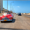 A drive along the Malecón, Havana, Cuba.