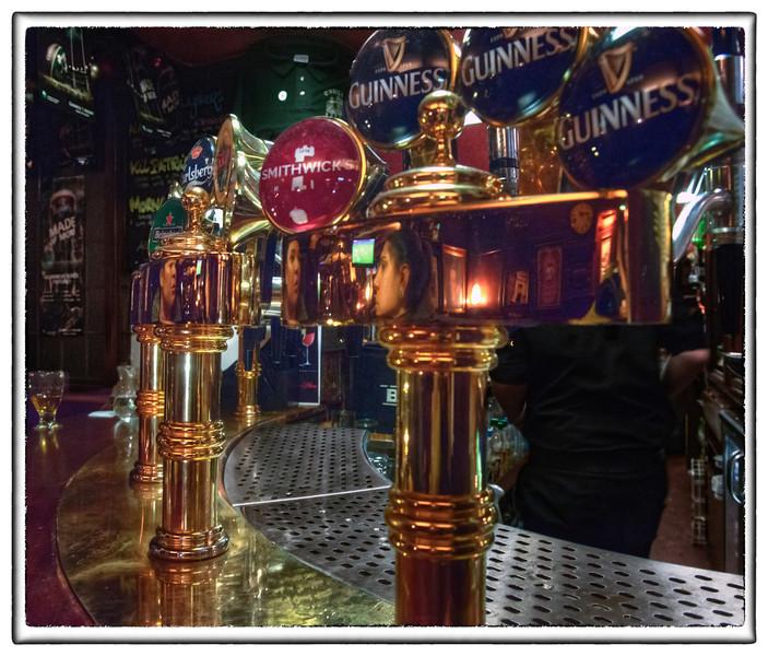 Ireland feels like this. O'Neill's Pub, Dublin.