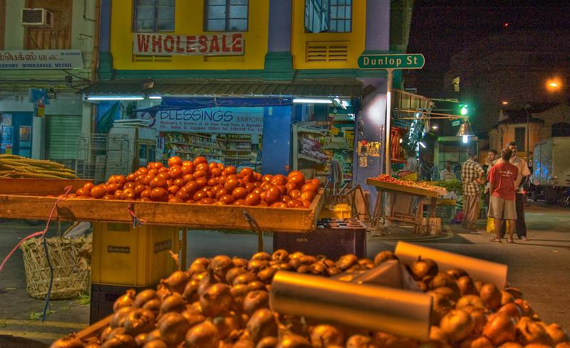 Dunlop Street, Singapore - HDR.