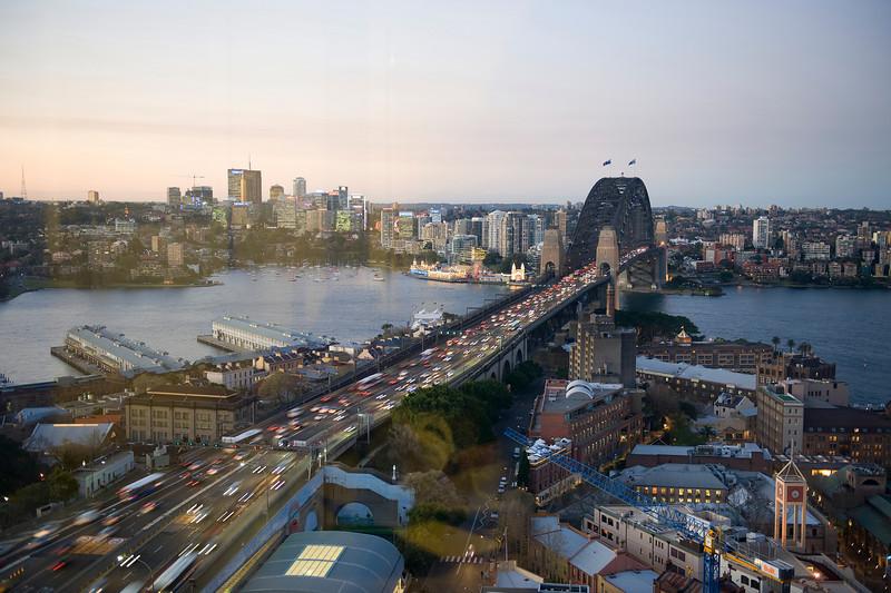 HDR: Harbour Bridge, Sydney, Australia.