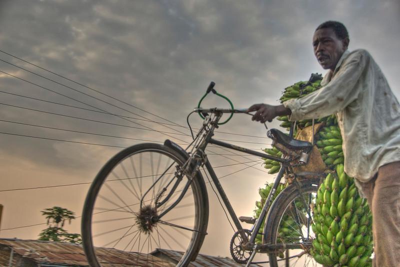 HDR: Banana man, Uganda.