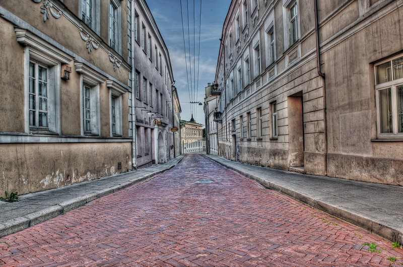 The old town, Vilnius, Lithuania HDR.