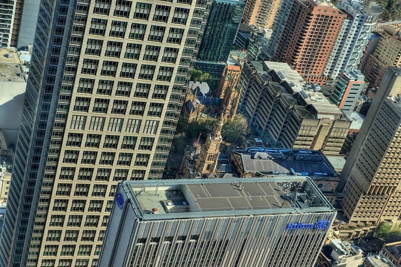 HDR: Above Sydney, Australia.