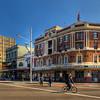 HDR: Street scene, Darlinghurst, Sydney, Australia.