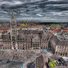 HDR: Rathaus, Munich, Germany.