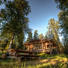 HDR: Summer cabin near Varkaus, Finland.