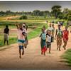 Friendly kids, Likoma Island, Malawi - HDR.
