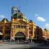 HDR: Flinders Street rail station, Melbourne, Australia.