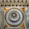 Ceiling of the former Presidential Palace, now Museum of the Revolution, old Havana, Cuba.