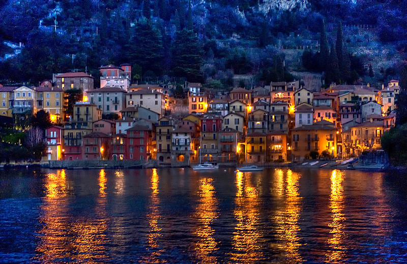 HDR: Verenna, Italy.