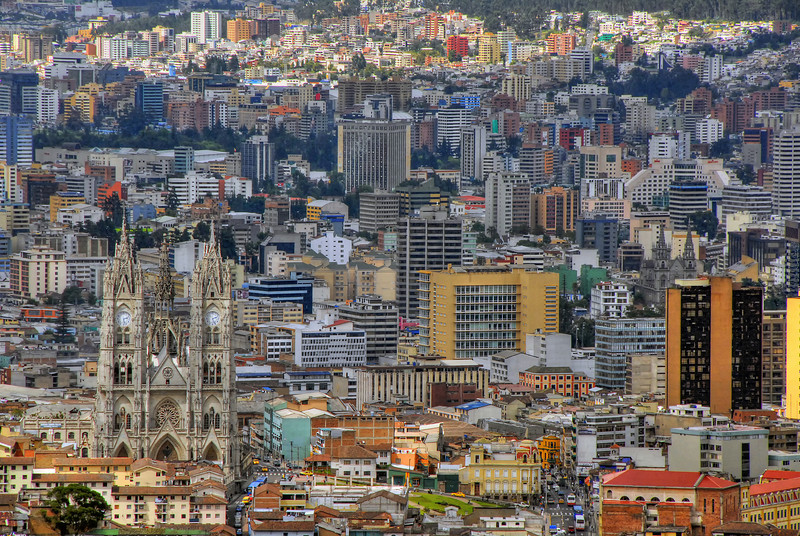 Quito, Ecuador HDR.
