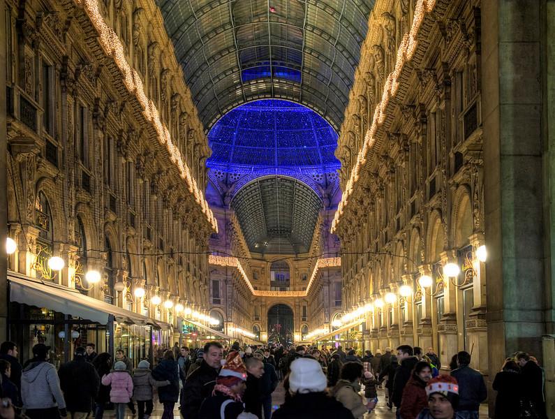 HDR: Milan, Italy.