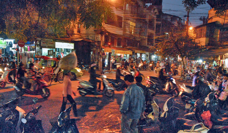 Old Hanoi, Vietnam - HDR.