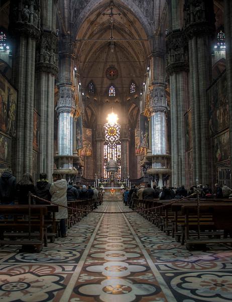 HDR: The Duomo, Milan, Italy.