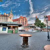 HDR: Early morning at the ViktualMarkt, Munich, Germany.