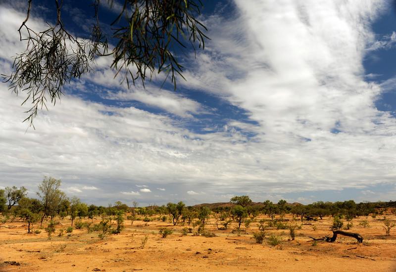 HDR: Near Alice Springs, Australia.