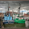Ships, Gdansk, Poland.
