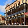 HDR: Fremantle, Australia street.