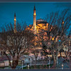 The Haggia Sophia at twilight, Istanbul, Turkey - HDR.