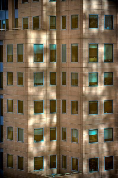 HDR: Downtown office building, Melbourne, Australia.