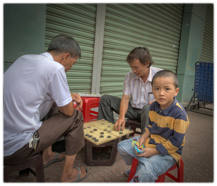 Checkers, Saigon, Vietnam.