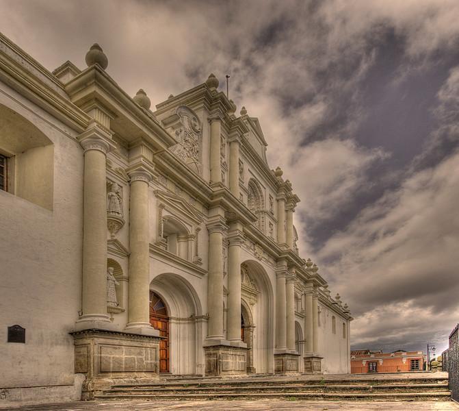 Cathedral of San Jose, Antigua, Guatemala.