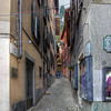 HDR: Alleyway, Bellagio, Italy.