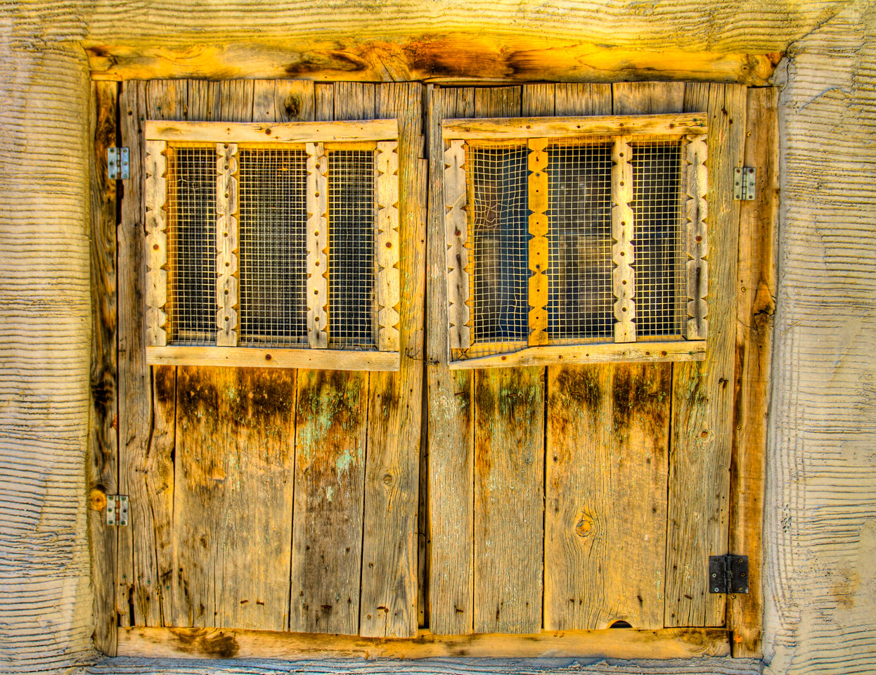 I like the old wooden doors and windows on some of the historical houses in and around Taos, New Mexico
