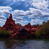 Big Thunder Mountain in Disney World.