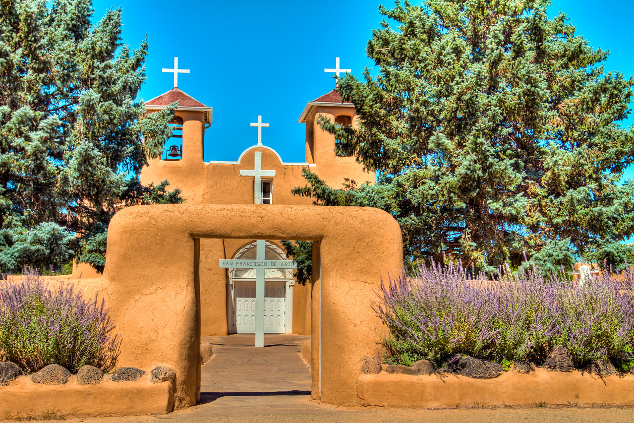San Francisco de Asis in Taos, New Mexico