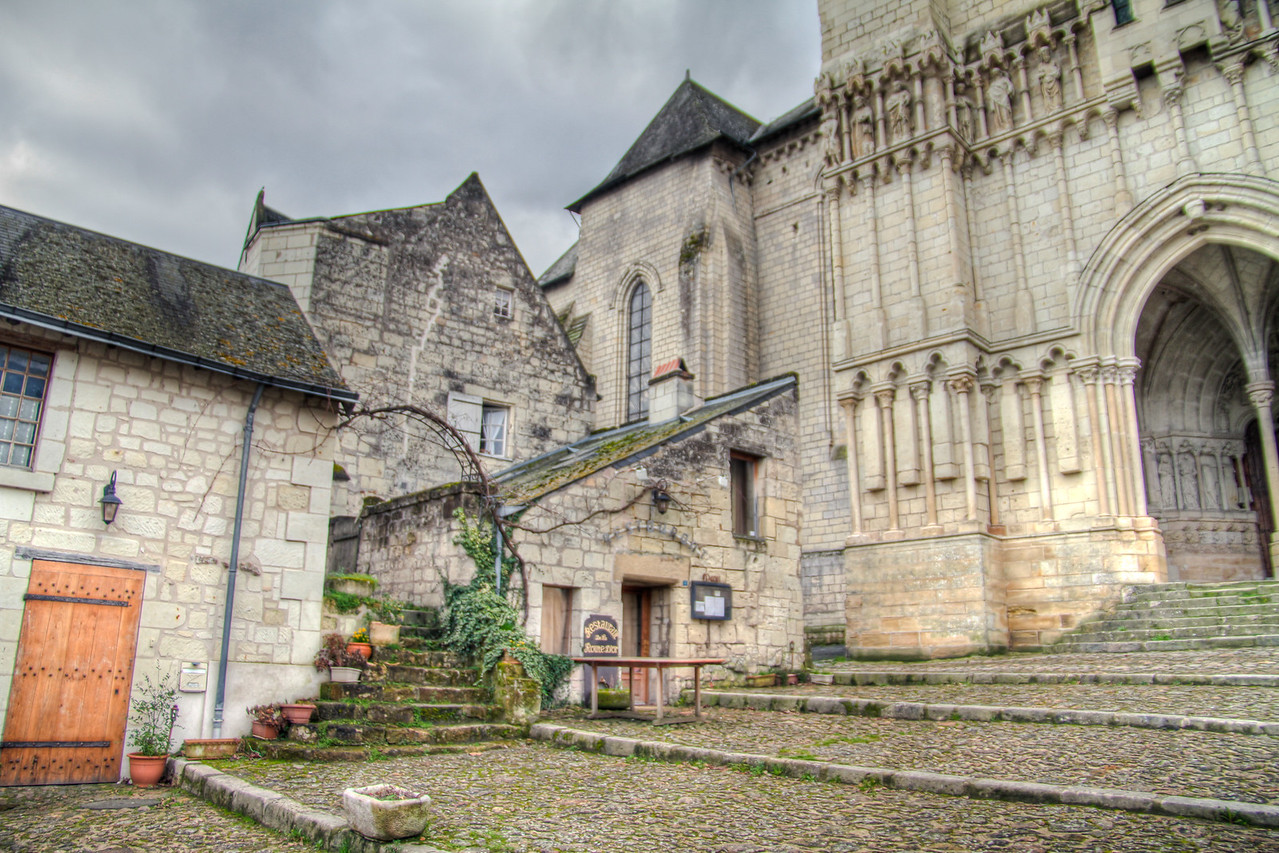 Candes St Martin, Loire, France